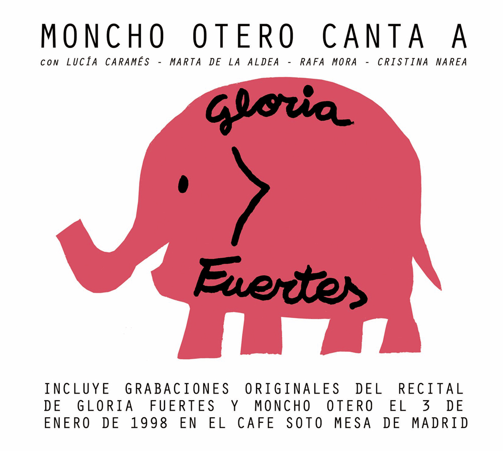 "Nuevo disco de Moncho Otero ""Moncho Otero canta a Gloria Fuertes"""