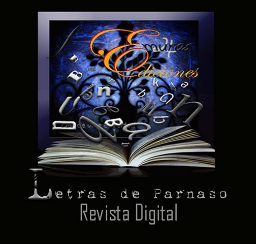 """La Revista Literia Digital de 4Muros Editorial """"Letras de Parnaso"""""""