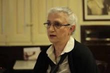 La escritora Ana Rossetti, poeta invitada en Versos sobre el Pentagrama. Fotografía extraída de: https://www.noticiasparamunicipios.com