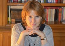 La poeta Isabel Delgado (Foto extraída de Crepusculario siglo 21)