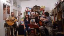 En la librería La Esquina del Zorro junto al dúo Silné