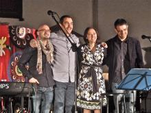 Alejandro Martínez, Moncho Otero, Pepa Merlo y Rafa Mora