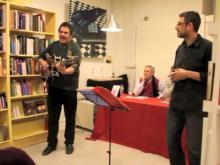 Actuación en la librería El Argonauta: La librería de la música, en Madrid