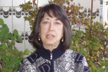 La poeta Milagros Salvador (Foto extraída de http://www.cuadernosdelaberinto.com/)
