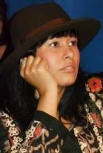 La poeta Rosa Silverio