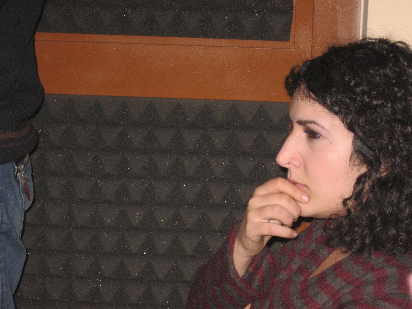 Colaboración de Lucía Caramés en el disco Viento de Octubre